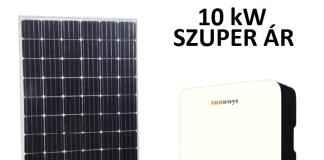 10 kw napelem ajánlat
